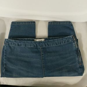 Free People High Rise Skinny Side Zip - size 30